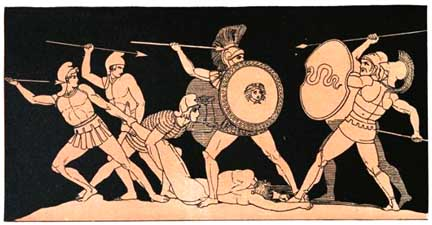hectors death in the story the iliad With the last amount of courage he had, he drew his sword after a fierce duel  between the two heroes, hector died achilles, enraged that hector had killed his .